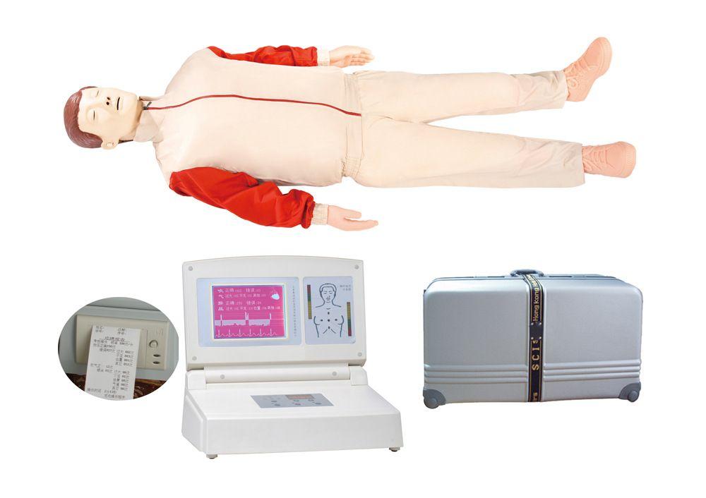 高级大屏幕液晶彩显电脑心肺复苏模拟人