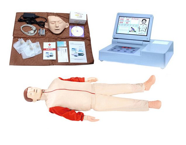 CPR690 液晶彩色大屏幕高级全自动心肺复苏模拟人