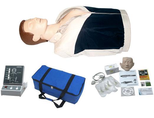 半身心肺复苏模拟人 心肺复苏模型