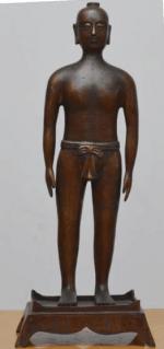 仿明代针灸铜人模型(真铜全铜、58黄铜材质)55CM